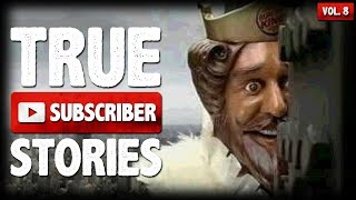 Burger King & Intruder Stories | 12 True Creepy Subscriber Submission Horror Stories (Vol. 008)