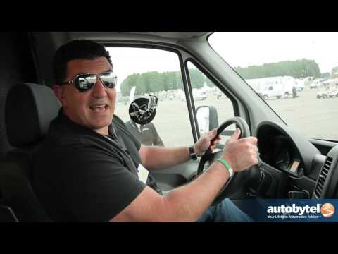 2013 Mercedes-Benz Sprinter Van Fuel Economy. Slalom. and Braking @ Test the Best Tour