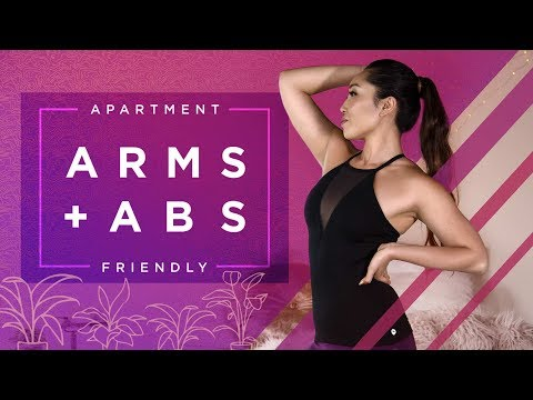 Toned Arms + Flat Abs | Apartment Friendly Workout