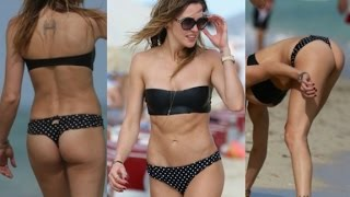 Katie Cassidy Hot Butt Show In Miami