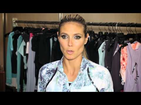 Behind Heidi Klum's Women's Health Covershoot