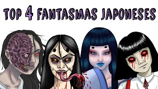 TOP 4 FANTASMAS JAPONESES | Draw My Life