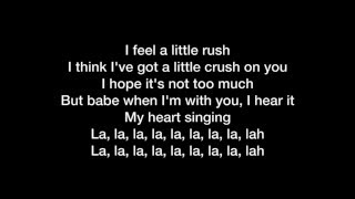 Yuna Crush feat Usher Lyrics Video