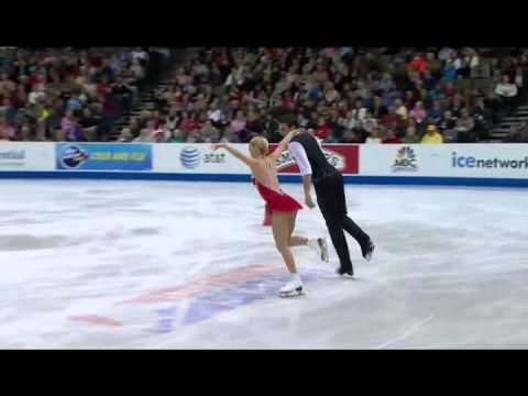 2013 US Champs Championship Pairs FS   7   Alexa Scimeca and Christopher Knierim 1