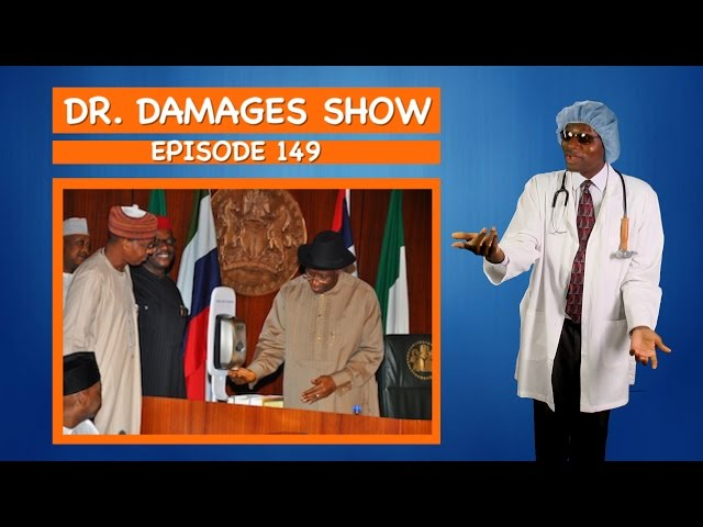 Dr. Damages episode 149 (War against Ebola: Jonathan Commissions a Dispenser)