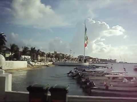 Saliendo de Playa del Carmen a Cozumel en ferry