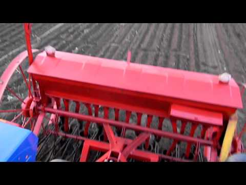 Сеялка зерновая своими руками