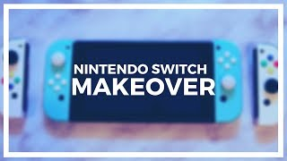 I MADE A TURQUOISE NINTENDO SWITCH! | (and found a bug in my joy-con?!)