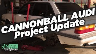 Update Ed's Project Cannonball Audi