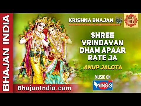 Shree Vrindavan Dham Apar Rate Jaa -  Radhe Bhajan By Anup Jalota video