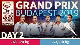 Judo Grand-Prix Budapest 2019: Day 2