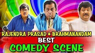 Rajendra Prasad & Brahmanandam Best Comedy Scenes   South Indian Hindi Dubbed Best Comedy Scenes