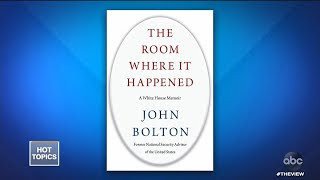 John Bolton's Book Says Trump Tied Aid To Biden Info | The View