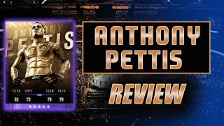 EA SPORTS UFC 3 - MASTER ANTHONY PETTIS REVIEW - ULTIMATE TEAM