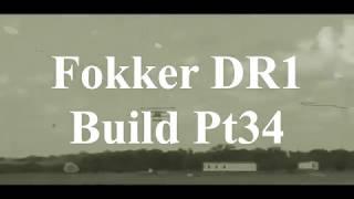 DW Hobby Fokker DR1 build Pt34 RC Model Geeks