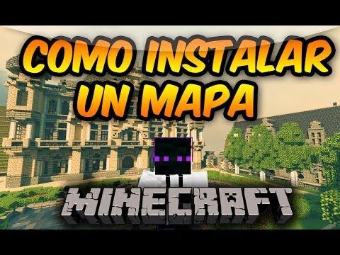 Minecraft 1.8.9/1.8.8/1.8/1.7.10/1.7.2 ~ Como Instalar Un Mapa