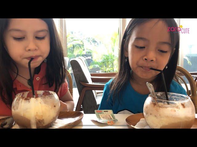 Cara membuat Es Susu Milo yang Enak ala Native Cafe р Zara Cute playdate with Cascade