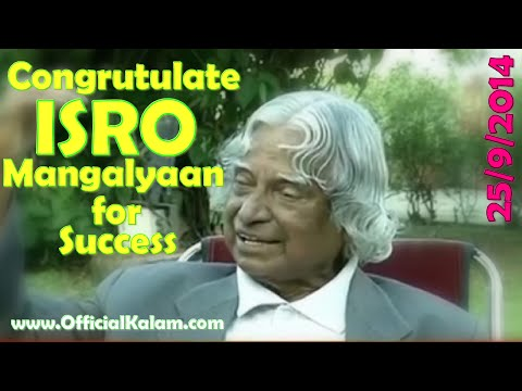 ISRO has achieved high success with Mangalyaan: Kalam