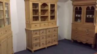 Pine Shop Dresser - Kitchen /Cafe Storage Unit - Pinefinders Old Pine Furniture Warehouse