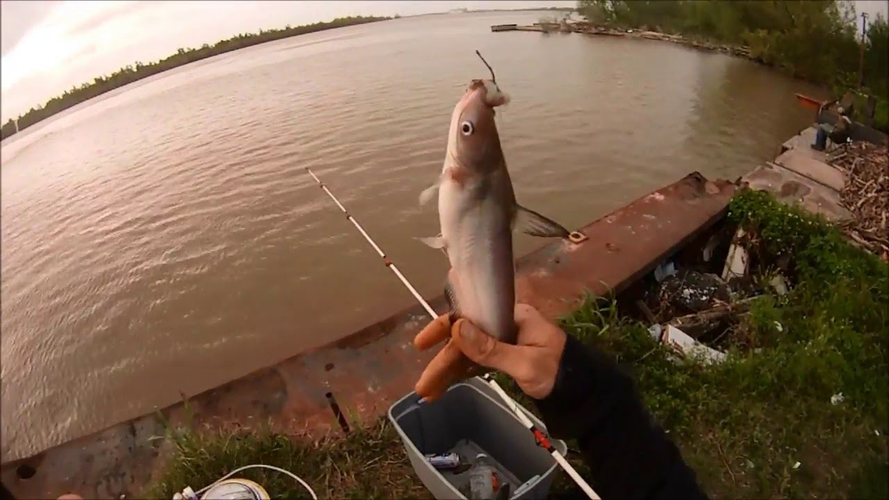 Abandoned  Catfish Fishing Spot  Mississippi River