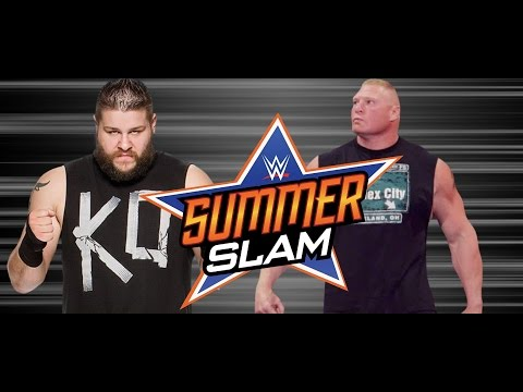 Major WWE Backstage Plans On Brock Lesnar vs. Kevin Owens Taking Place At WWE SummerSlam 2015