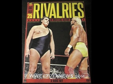 WWE The Top 25 Rivalries in Wrestling History DVD Review
