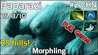 Paparazi [VG] Morphling - Dota 2 Full Game