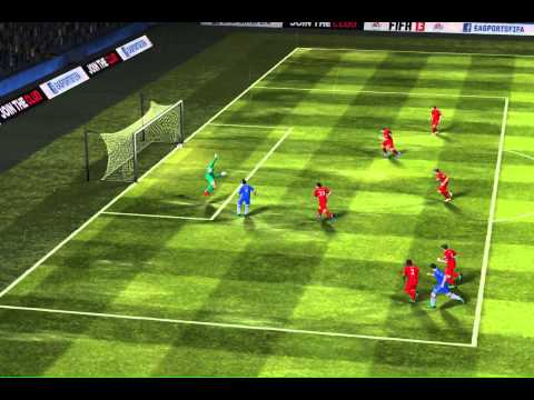 FIFA 13 iPhone/iPad - Chelsea vs. Liverpool