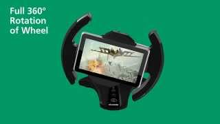 "DIAMOND TAB360 Universal Racing Gaming Wheel Stand for iPad® and 7-10.1"" tablets"