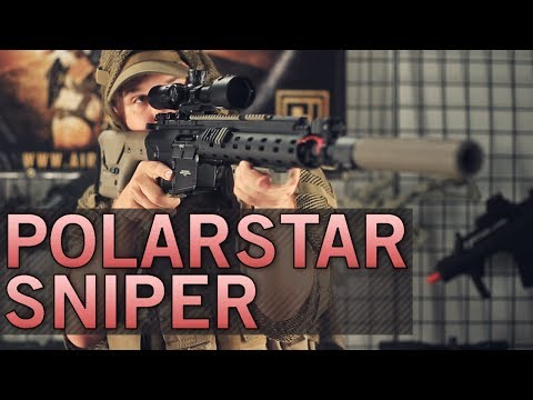 Custom Polar Star Sniper Rifle Built for Operation Irene - Josh s Loadout - Airsoft GI