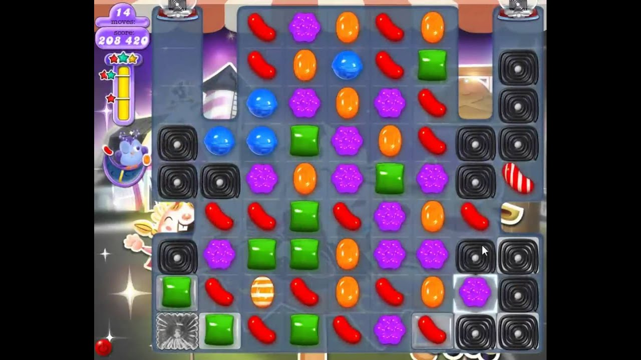 Candy Crush Saga Dreamworld Level 241  Traumwelt    Moonstruck
