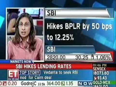 State Bank of India raises prime lending rate