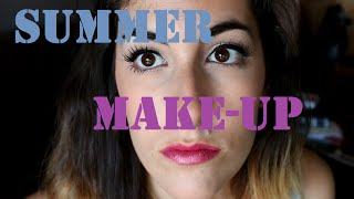 My summer make-up | Maquillaje de verano