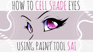 How to color Anime Eyes in SAI | Yankee Doodles