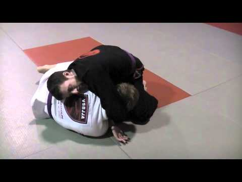 Darce Choke Submission from Top Half Guard - BJJ Image 1