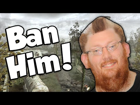 BAN THE HACKERS! (Call of Duty 4: Modern Warfare)