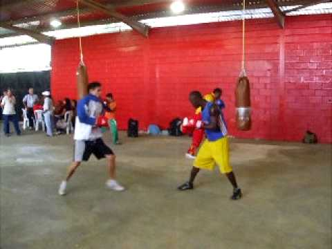 Cuban boxing  Warm Up at 2009 Batalla Carabobo - Venezuela Image 1