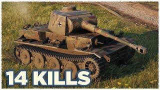 VK 36.01 (H) • 14 KILLS • WoT Gameplay