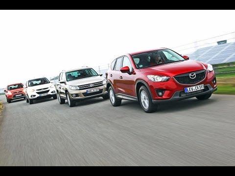 Tiguan, Kuga, ix35, CX-5 - Mazda CX-5 schlägt VW Tiguan