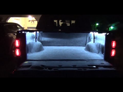 Truck Bed Lights with LED Strips DIY How-To