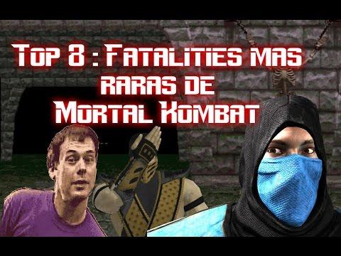 Top 8 : Fatalities mas raras de Mortal Kombat (Loquendo/ Mi name is Doomguy)