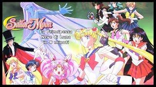 Sailor Moon ❄️ La Principessa Neve di Luna in 4 minuti
