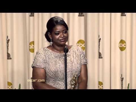 Octavia Spencer - Press Room Cam