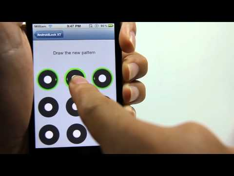 Androidlock XT Review - Android Lock Screen for iPhone and iPod Touch - 2011