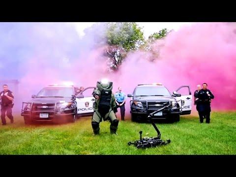 Bloomington Police Department - Running Man Challenge