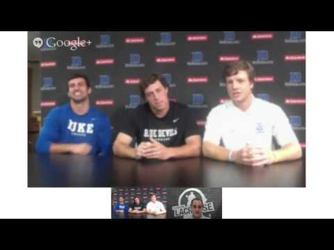 Inside Lacrosse Unit Talk With Duke's Midfield: David Lawson, Jake Tripucka and Christian Walsh