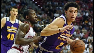 Highlights: Los Angeles Lakers vs. Cleveland Cavaliers, Summer League   Lonzo Ball Triple-Double