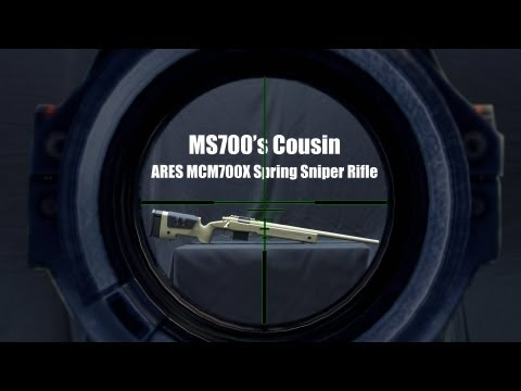 Meet the MS700's Airsoft Cousin, the ARES MCM700X Rifle - RedWolf Airsoft RWTV