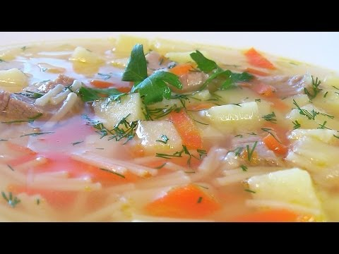 Как варить суп - видео