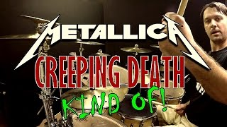 download lagu Metallica - Creeping Death Kind Of Drum Cover gratis